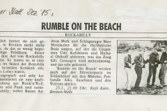 Presse-–-Rumble-On-The-Beach-Archiv---Bremer-Blatt---1985