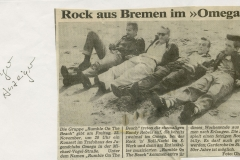 Presse – Rumble On The Beach Archiv - erlanger anzeiger - 1985