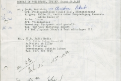 Presse – Rumble On The Beach Archiv - IFA Berlin - 1987