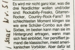 Presse – Rumble On The Beach Archiv - Live Magazin - 1987