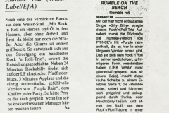 Presse – Rumble On The Beach Archiv - Rumble Rat QM - 1987 (2)