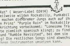 Presse – Rumble On The Beach Archiv - Rumble Rat QM - 1987 (3)