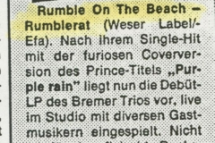 Presse – Rumble On The Beach Archiv - Rumble Rat QM - 1987 (4)
