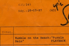 Presse – Rumble On The Beach Archiv - Up'n Swutch - 1987