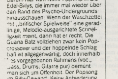 Presse – Rumble On The Beach Archiv – spex - 1988