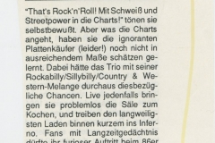 Presse – Rumble On The Beach Archiv - Göttingen - 1988