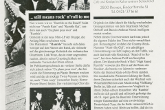 Presse – Rumble On The Beach Archiv - HB Roland - 1988