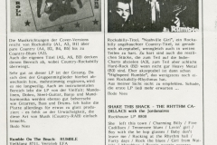 Presse – Rumble On The Beach Archiv - RnR Musikmagazin - 1988