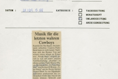 Presse – Rumble On The Beach Archiv - verden aller - 1988