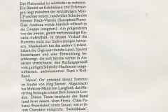Presse – Rumble On The Beach Archiv - Bremer Blatt - 1989