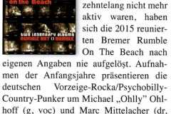 Rumbel On The Beach - Good Times - Februar/März 2016