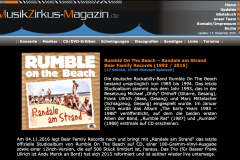 Presse - Randale Am Strand- Rumble on The Beach - musikzikus-magazin.de
