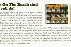Rumble On The Beach sind wieder voll da!