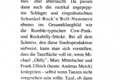 Presse - Randale am Strand - Rumble on the Beach
