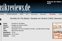 Rumble On The Beach: Randale am Strand