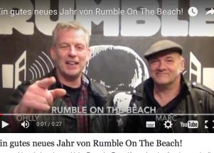 Ein gutes neues Jahr von Rumble On The Beach!