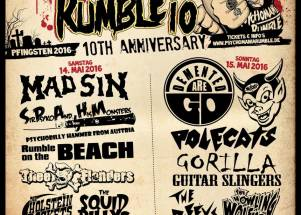 Tickets available for Psychomania Rumble