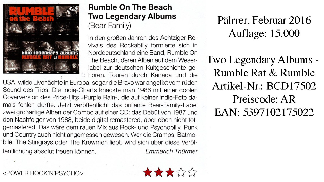 Rumble On The Beach_Plärrer_Februar 2016