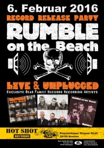Rumble on the Beach - bei Hot Shot Records - Bremen