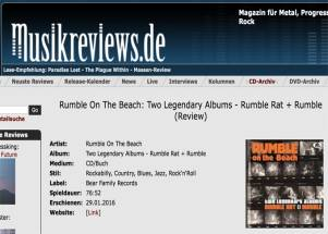 """Keep on rumbling, ihr Rockabilly-Beach-Boys!"""