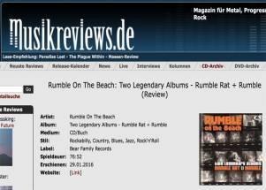 """""""Keep on rumbling, ihr Rockabilly-Beach-Boys!"""""""
