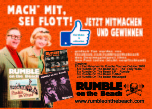 Rumble On The Beach - Gewinnspiel -