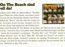 Presse – Rumble On The Beach sind wieder voll da!