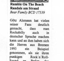 Presse – Randale am Strand von Rumble On The Beach – Oldie-Markt