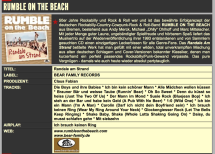 Presse – Randale am Strand von Rumble On The Beach – Country Jukebox