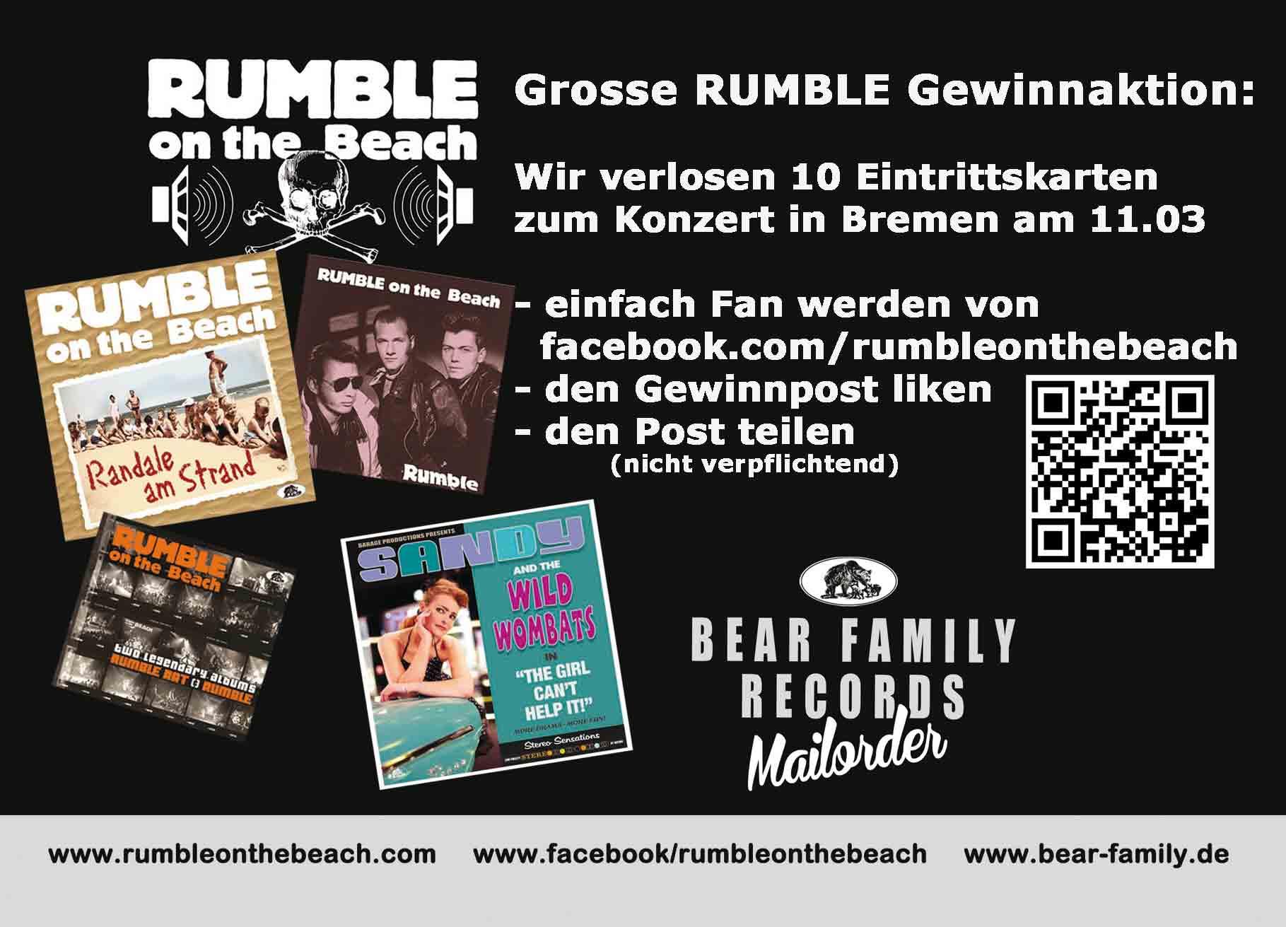 Rumble On The Beach -Gewinnspiel
