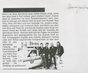 Presse – Rumble On The Beach Archiv - Februar 1990 - Magazin – Baumgarten-