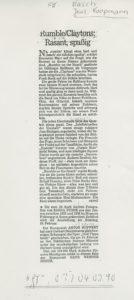 Presse – Rumble On The Beach Archiv - Februar 1990 - Magazin – Unbekannt