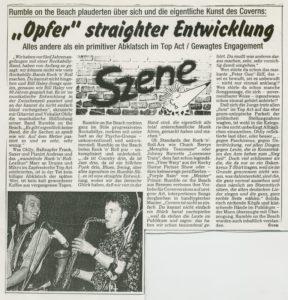 Presse – Rumble On The Beach Archiv - Februar 1990 - Magazin – Unbekannt-