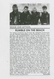 Presse – Archiv Februar 1990 Magazin – TAZ Berlin -