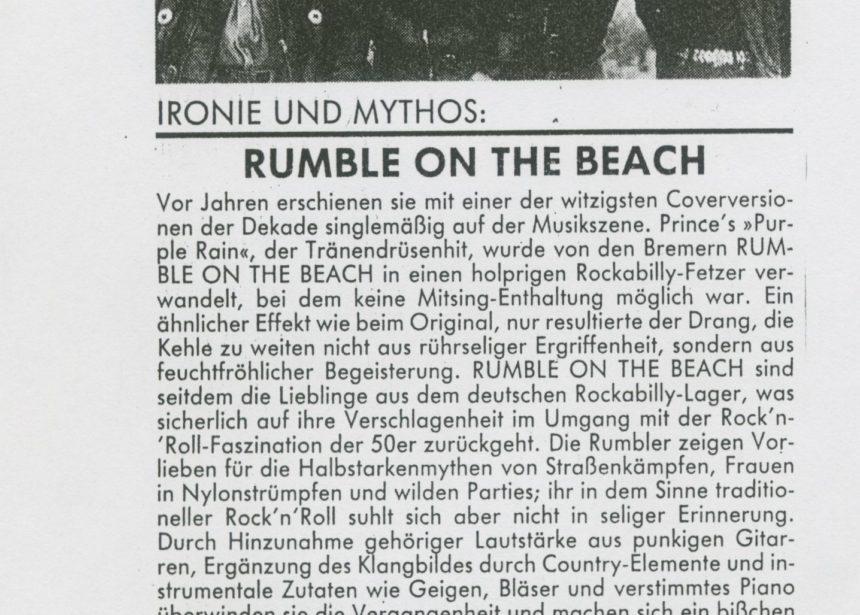 Presse – Archiv 1990 – Magazin – TAZ Berlin –