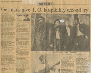 Presse – Rumble On The Beach Archiv – 1989 – Toronto Star - CDN